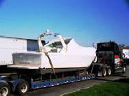Boat Transport Lowboy - Arch up