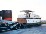 Wood Hull Boat Transport