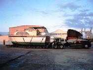 Chris Craft Yacht Transport