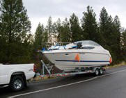 Bayliner Boat Towing Washington to Florida
