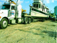 hydraulic boat transport