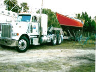Boat Transport Crane Load
