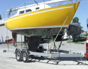 Sailboat Hauling and Towing